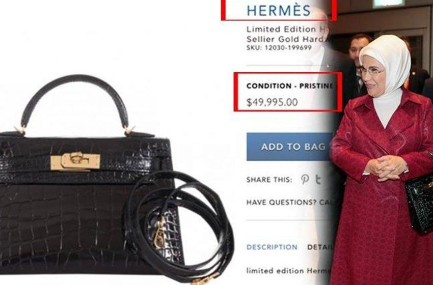 Η Εμινέ Ερντογάν διαφωνεί εμπράκτως με το μποϊκοτάζ του συζύγου της στα γαλλικά προϊόντα