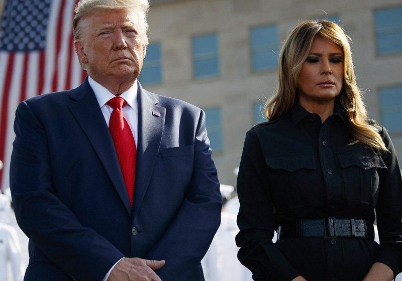 Θετικοί Τραμπ και Μελάνια στον κοροναϊό – Είναι σε καραντίνα
