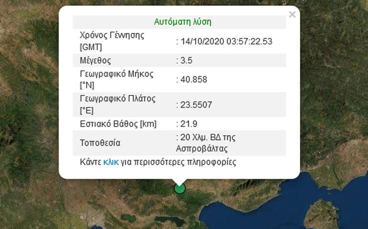 Σεισμός 3,5 Ρίχτερ στη Θεσσαλονίκη