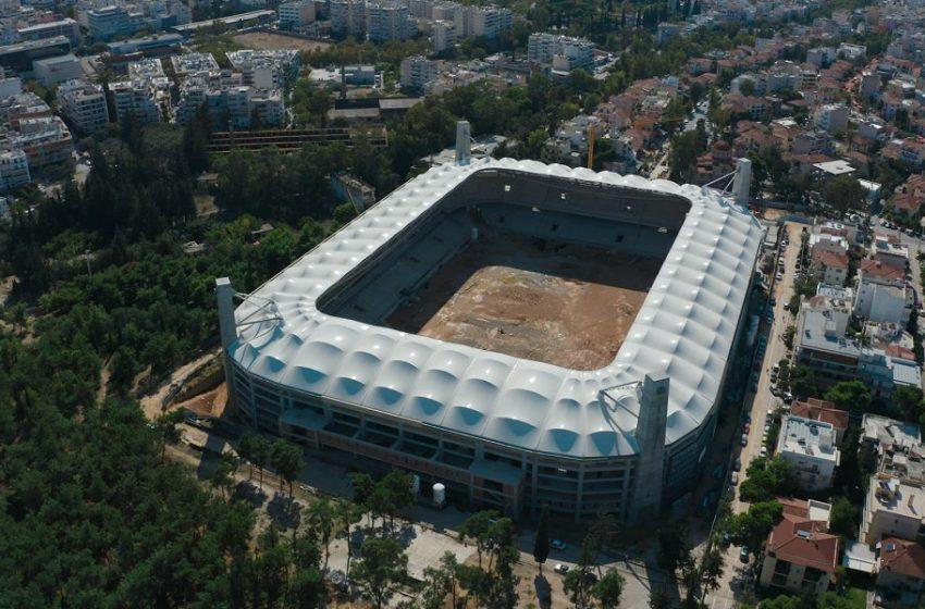 OPAP ARENA από ψηλά-Αποκλειστικά πλάνα από το νέο γήπεδο της ΑΕΚ