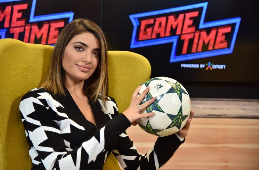 Μαρία Καζαριάν στο ΟΠΑΠ GAME Time: Ανεβασμένη η Εθνική Ομάδα με τον Φαν'τ Σχιπ (vid)