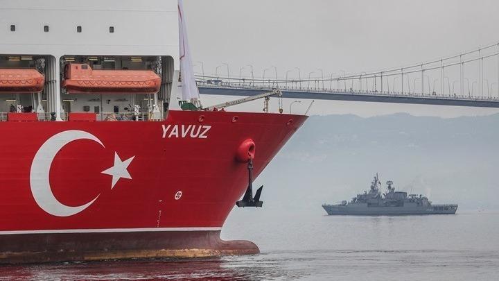 Στις τουρκικές ακτές το Yavuz