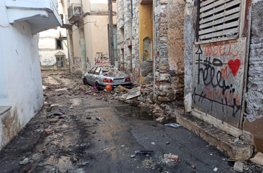 Σάμος: Εκτεταμένες ζημιές σε πάνω από 100 κτίρια- Προβλήματα στις υποδομές του νησιού και σε εκκλησίες