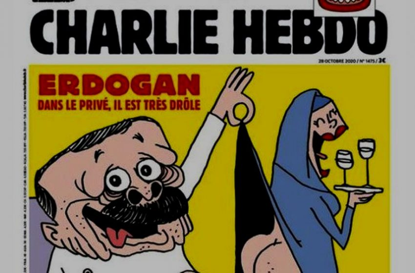 Το πρωτοσέλιδο του Charlie Hebdo που θα βγάλει τον Ερντογάν από τα ρούχα του… (pic)