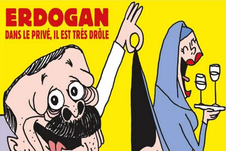 """""""Καταιγίδα"""" στην Τουρκία για το Charlie Hebdo"""