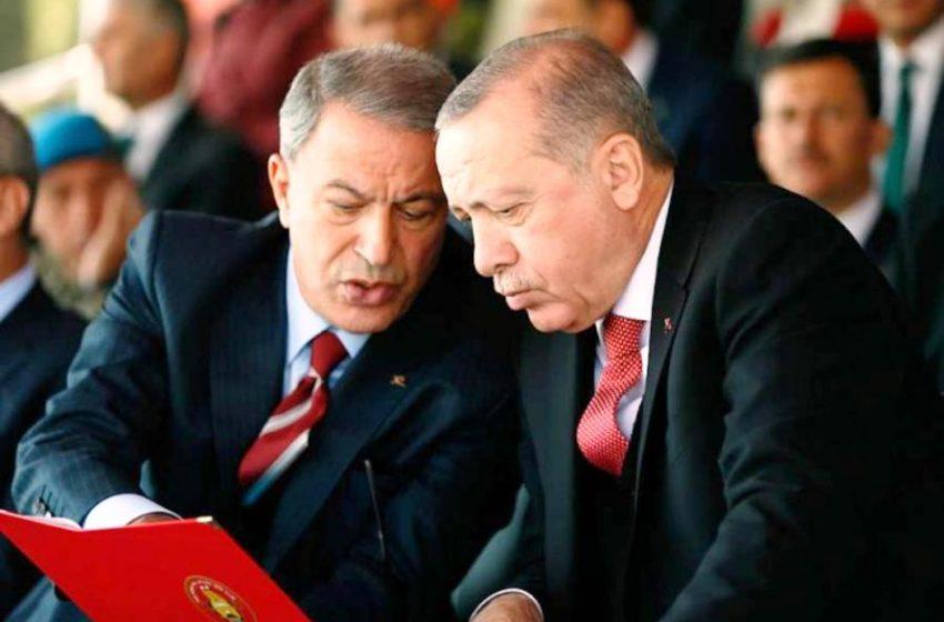 """Ζητάει και τα ρέστα ο Ερντογάν: """"Η Ελλάδα προκαλεί την ένταση"""" – Από κοντά και ο Ακάρ: """"Το Καστελόριζο δεν θα αποκτήσει ποτέ υφαλοκρηπίδα…"""""""