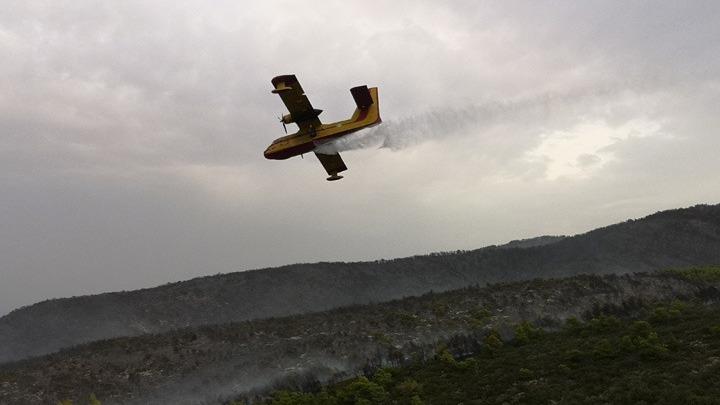 Οριοθετήθηκε η μεγάλη πυρκαγιά στη Ζάκυνθο