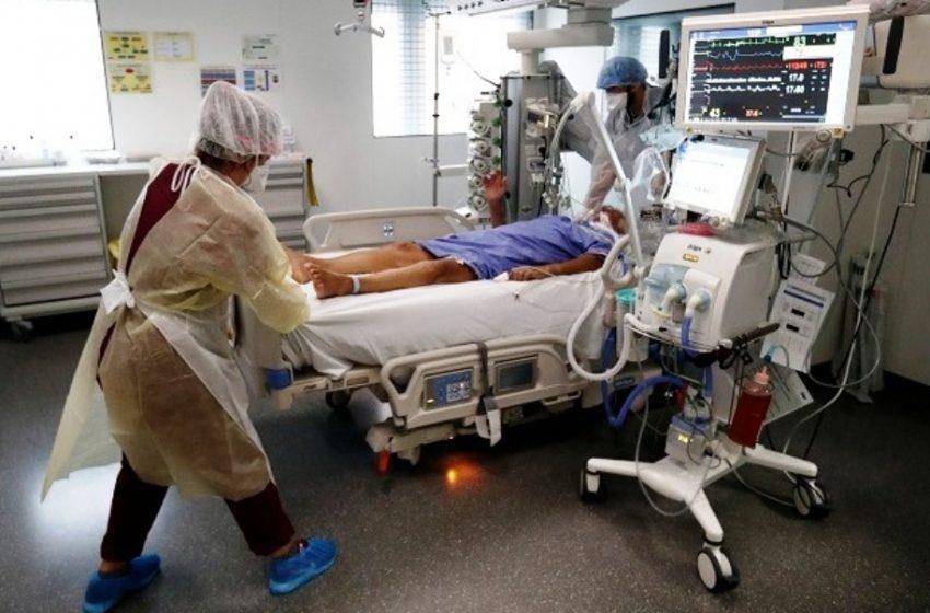 Στα νοσοκομεία 7.500 Γάλλοι με κοροναϊό