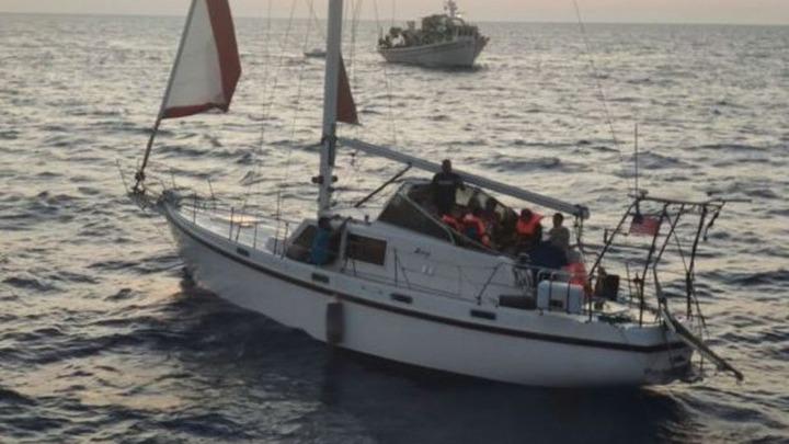 Στα Κύθηρα ιστιοφόρο σκάφος με 72 αλλοδαπούς