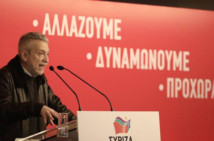 """Κοντονής εναντίον Τσίπρα: """"Οι ανάξιες ηγεσίες γίνονται αδίστακτες"""""""