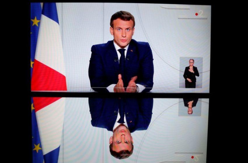 Δραματικό διάγγελμα Μακρόν: Ανακοίνωσε lockdown στην Γαλλία
