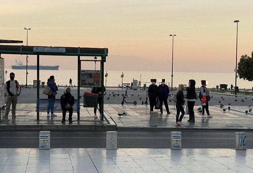 Επεισόδιο και συλλήψεις στην Θεσσαλονίκη για τις μάσκες
