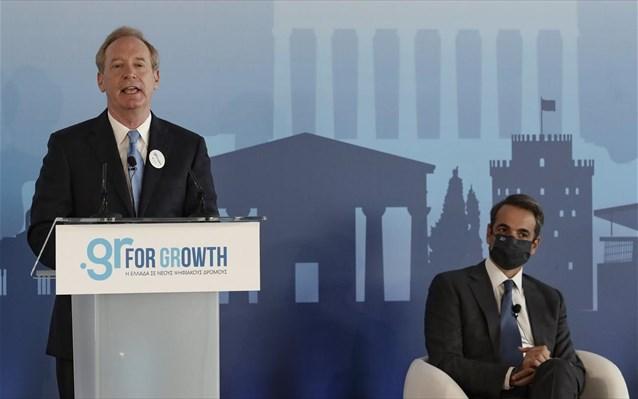 Microsoft- Κυρ. Μητσοτάκης: Αναβάθμιση της Ελλάδας ως επενδυτικό προορισμό- Μπ. Σμιθ: Δείχνει την εμπιστοσύνης μας στην ελληνική οικονομία