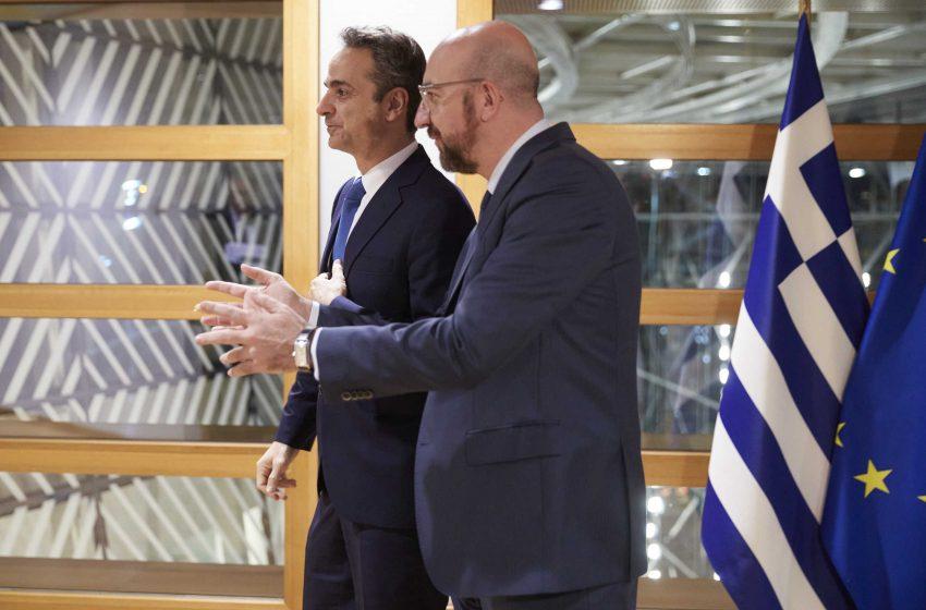 Επικοινωνία Μητσοτάκη – Μισέλ: Ο πρωθυπουργός θα ζητήσει να τεθεί θέμα Oruc Reis στη Σύνοδο Κορυφής