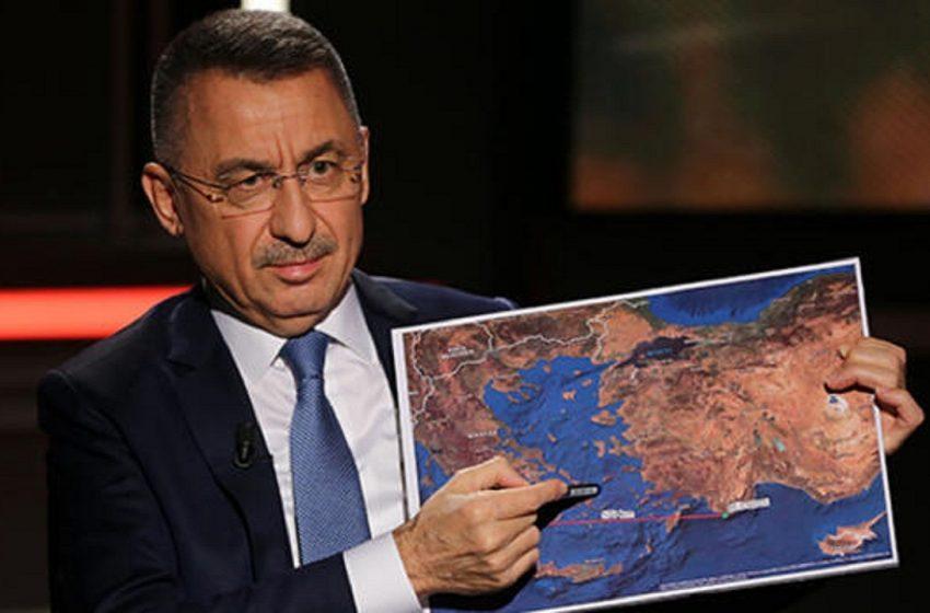 Αντιπρόεδρος Τουρκίας: Οι έρευνες θα επεκταθούν στα νότια της Κρήτης