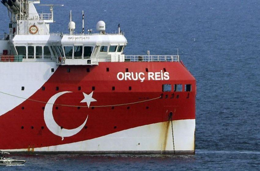 """""""Κρυφτό"""" στο Αιγαίο παίζουν οι Τούρκοι με το Oruc Reis – Ανοίγουν και κλείνουν τους πομπούς του ερευνητικού σκάφους"""