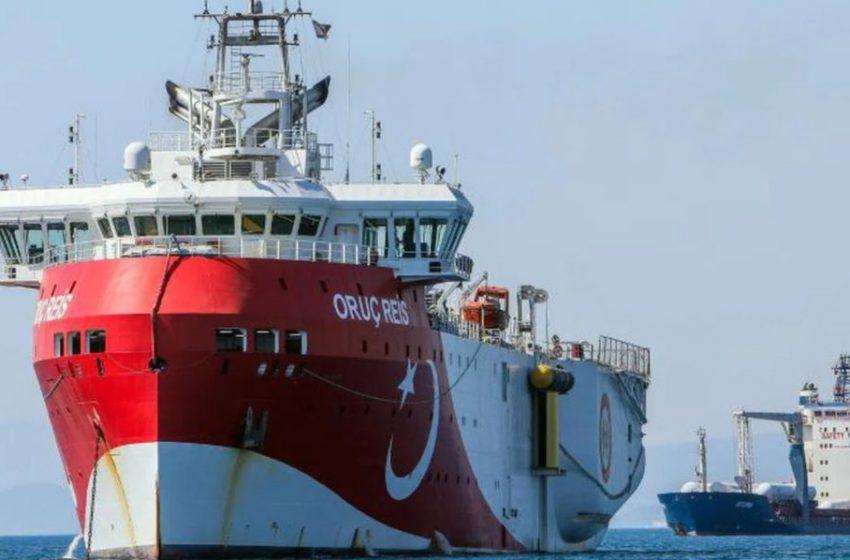 Ξανά στην Αν. Μεσόγειο το Oruc Reis βγάζει η Τουρκία μέχρι τον Ιούνιο