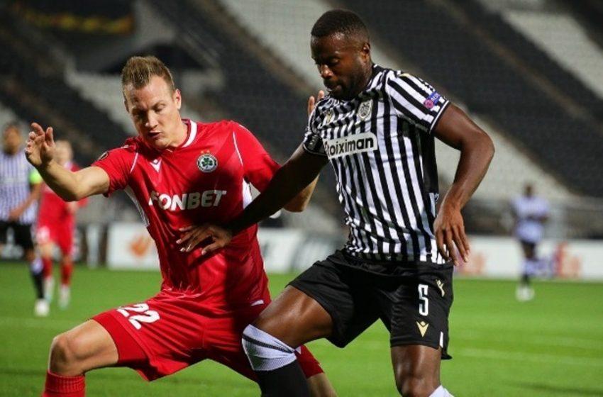 Europa League: Ο ΠΑΟΚ δεν μπόρεσε με την Ομόνοια