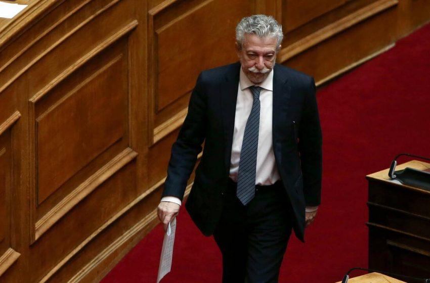 Αγεφύρωτο το χάσμα Κουμουνδούρου-Κοντονή – Εκτός ΣΥΡΙΖΑ ο πρώην υπουργός