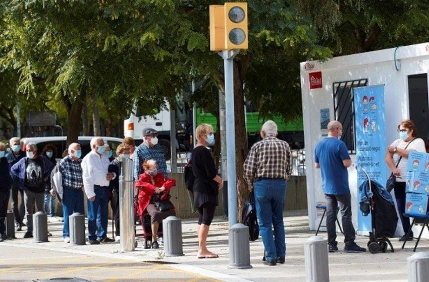 """""""Σπάει"""" όλα τα ρεκόρ η Ισπανία: Ξεπέρασε το 1 εκατ. κρούσματα"""