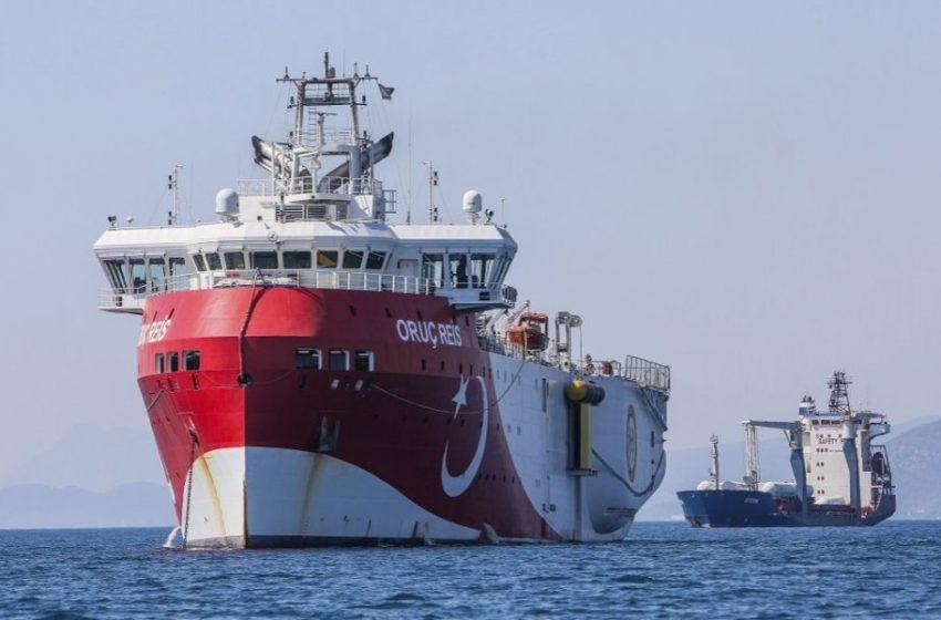 Θρίλερ με την πορεία του Oruc Reis – Οι κινήσεις του τουρκικού πλοίου στο Καστελόριζο