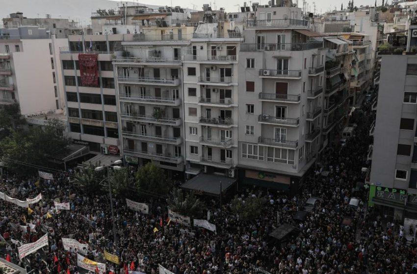 Μετά από 9 μέρες η ΕΛ.ΑΣ δημοσιοποίησε βίντεο για το συλλαλητήριο στο Εφετείο!