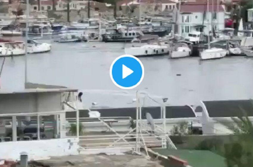 Νέο βίντεο: Η τρομακτική στιγμή που το φονικό τσουνάμι χτυπάει την Σμύρνη (vid)
