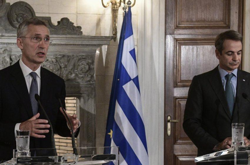 Κυρ. Μητσοτάκης: Τα γεγονότα στην αν. Μεσόγειο αφορούν συνολικά το ΝΑΤΟ – Στόλτενμπεργκ: Πνεύμα αλληλεγγύης μεταξύ των συμμάχων (vid)