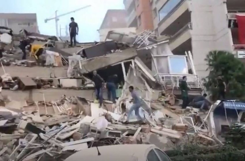 Σεισμός 6,7 Ρίχτερ: Νεκροί στη Σμύρνη – Αρκετοί εγκλωβισμένοι – 120 τραυματίες