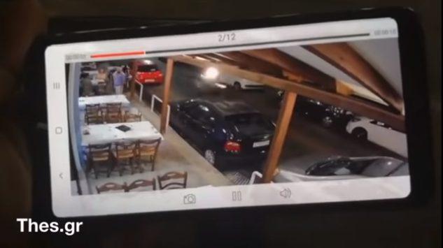 Μηχανή παρέσυρε σερβιτόρο έξω από εστιατόριο στην Αθήνα – Σοκαριστικό βίντεο (vid)