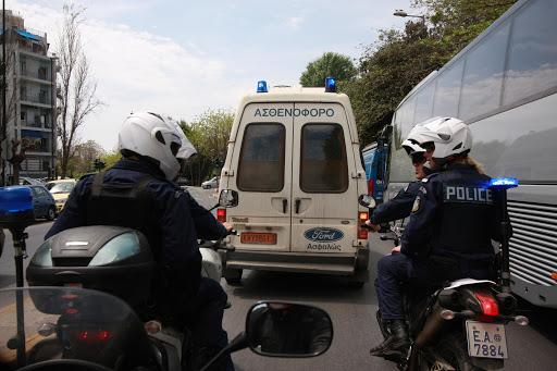 Τροχαίο με αστυνομικούς της ΔΙΑΣ – Κυνηγούσαν τους δράστες της συμπλοκής στη Μελετίου