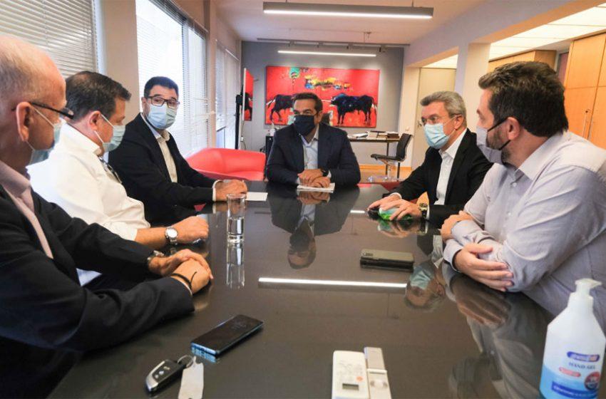 Τι συζήτησαν Τσίπρας και εκδότες- Τα αιτήματα της ΕΙΗΕΑ για την ενίσχυση του Τύπου
