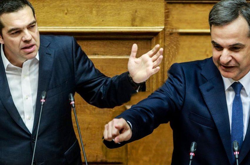 """Μητσοτάκης – Τσίπρας: Άγρια πολιτική κόντρα για την πρώτη κατοικία – Οι """"πάσες"""" Χρυσοχοΐδη με τα 12 μίλια και τον Παππά"""