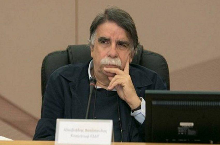 Βατόπουλος: Σύντομα, μάσκες παντού- Έχει ήδη χτυπήσει το καμπανάκι…