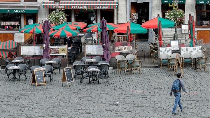 Απαγόρευση κυκλοφορίας και στο Βέλγιο-Κλείνουν μπαρ και εστιατόρια