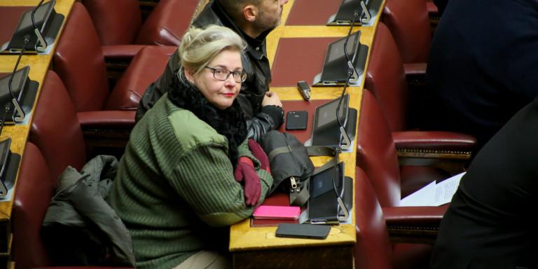 Ανακλήθηκε ο διορισμός της Ζαρούλια στη Βουλή