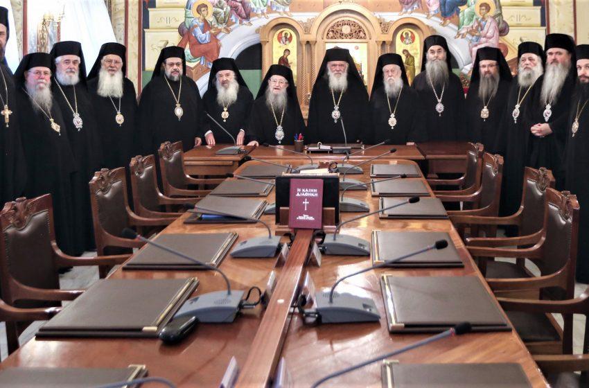 """Εκπρόσωπος Ιεράς Συνόδου: """"Πάμε σε συμβιβαστική λύση όπως τα Χριστούγεννα"""""""