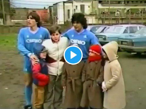 Όταν ο Μαραντόνα έπαιξε σε ένα άθλιο γήπεδο για ένα άρρωστο παιδί (vid)