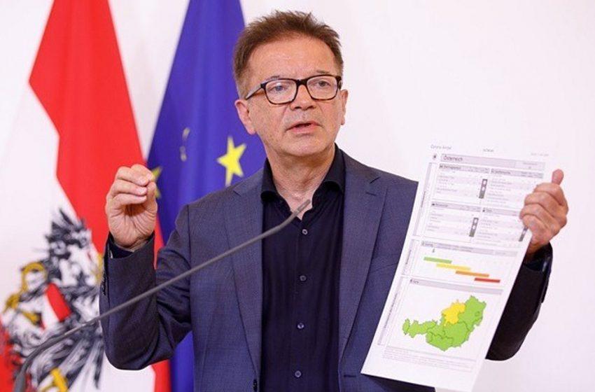 Το μερικό lockdown δεν οδήγησε σε σημαντική πτώση των κρουσμάτων στην Αυστρία