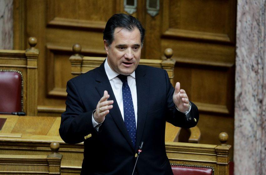 Αδ. Γεωργιάδης: Όποιος αμφισβητεί τη συμφωνία των Πρεσπών δωρίζει το όνομα Μακεδονία