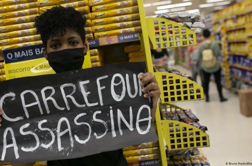 Διαδηλώσεις μετά το θάνατο πολίτη από 2 υπαλλήλους security στη Βραζιλία (vid)