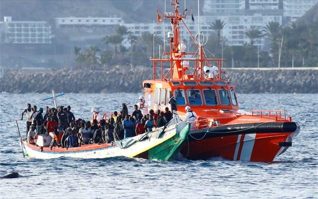 Ισπανία: Περισσότεροι από 1.600 μετανάστες στα Κανάρια σε 2 ημέρες