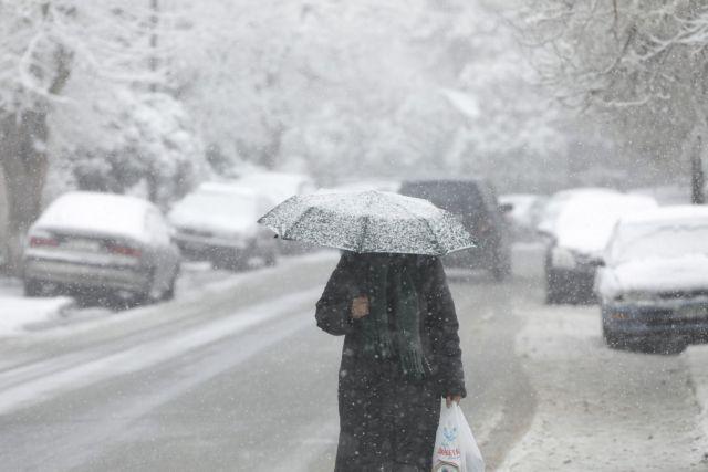 """Έρχεται ο """"Λέανδρος"""": Πού θα χιονίσει (εικόνες)"""