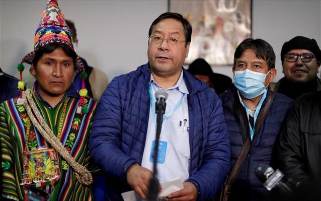 Ορκίστηκε ο σοσιαλιστής Λουίς Άρτσε στη Βολιβία