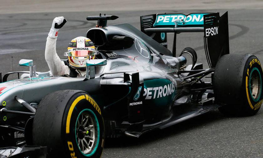 Πρωταθλητής ο Χάμιλτον στην Formula1