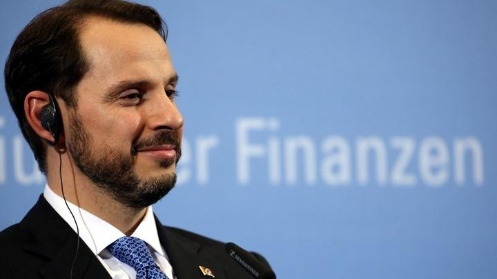 Παραιτήθηκε ο υπουργός Οικονομικών και γαμπρός του Ερντογάν