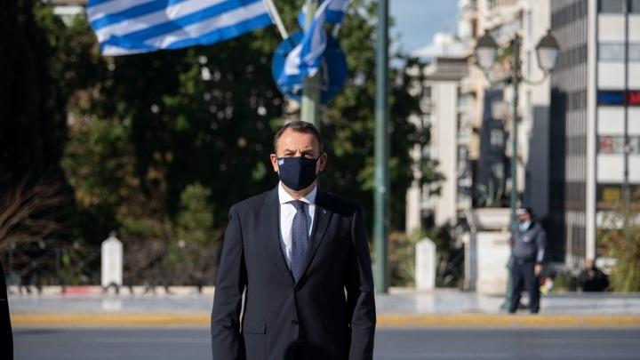 Ν. Παναγιωτόπουλος: Οι Ένοπλες Δυνάμεις ορθώνουν το ανάστημά τους σε δύσκολες συνθήκες πανδημίας και πρωτοφανούς έντασης με την Τουρκία
