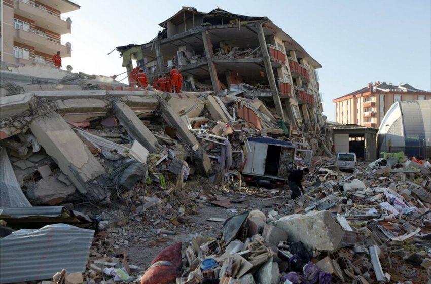 Σε 58 ανέρχονται πλέον τα θύματα του σεισμού σύμφωνα με τον πρόεδρο Ερντογάν