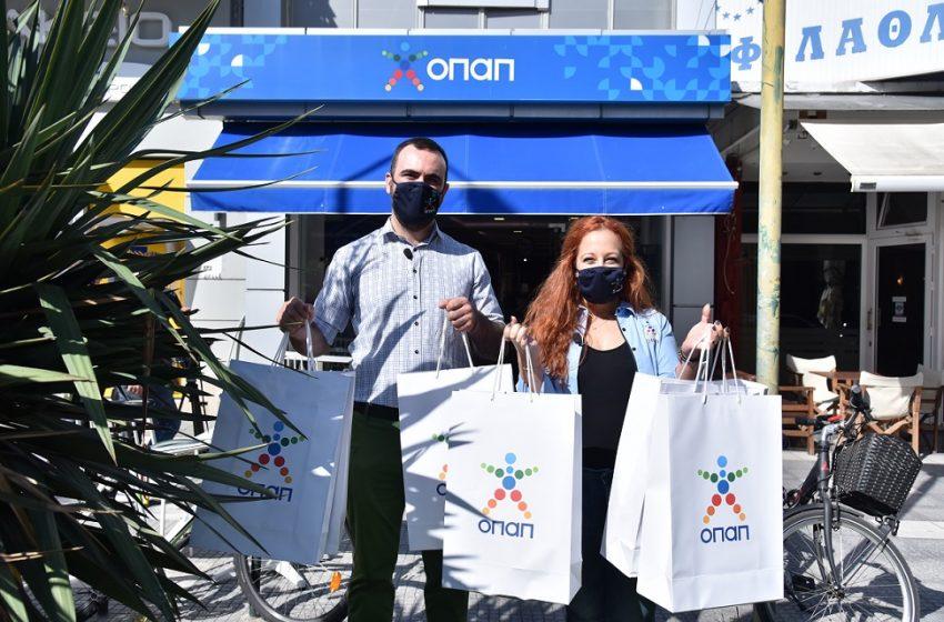 Ο ΟΠΑΠ προσφέρει 4.000 παπούτσια σε παιδιά που έχουν ανάγκη – Νέα δράση προσφοράς και αγάπης με την υποστήριξη των συνεργατών του ΟΠΑΠ σε όλη την Ελλάδα