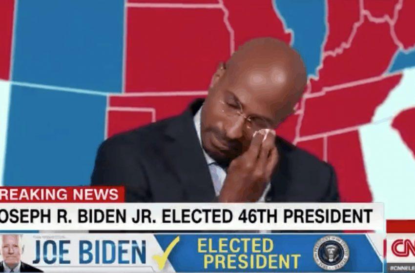 Πως ανακοίνωσε το CNN την εκλογή Μπάϊντεν- Δάκρυσε live αναλυτής του καναλιού (vid)